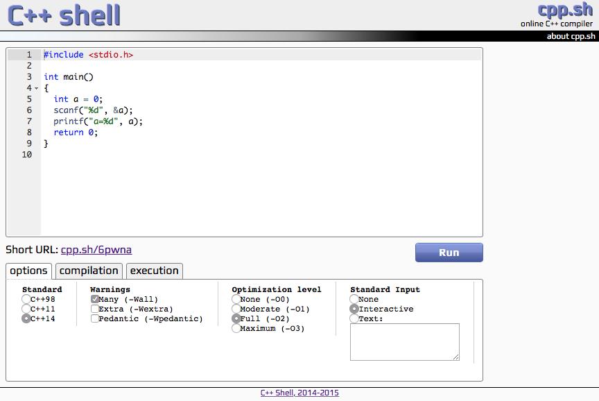 オンラインでプログラミングして実行できるサイト - Qiita