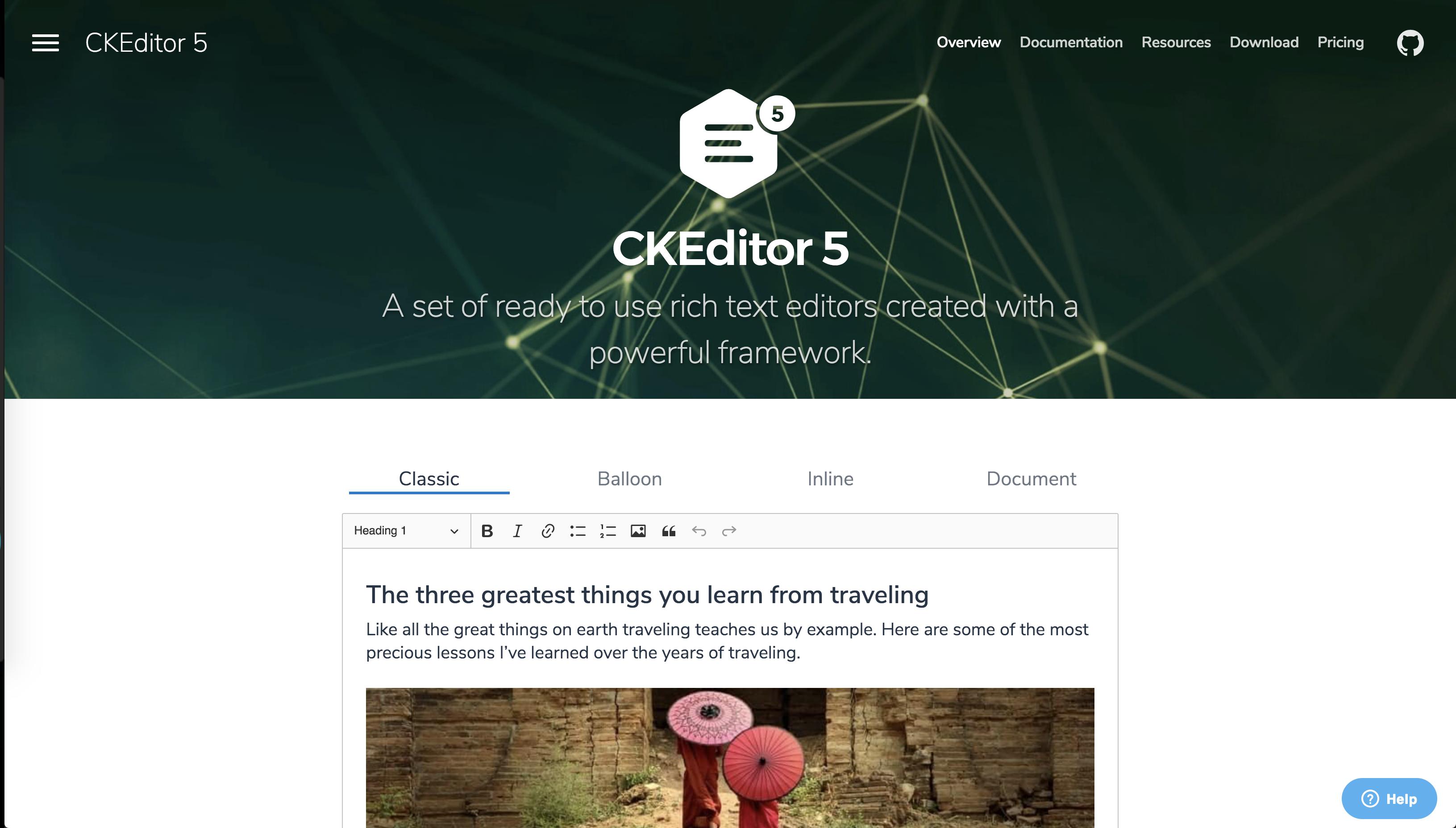 CKEditor 5の画像アップロードを実装する - Qiita