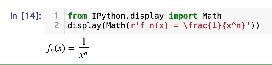 Jupyter Notebook上でSymPyの数式とLaTeXコマンドを組み合わせて