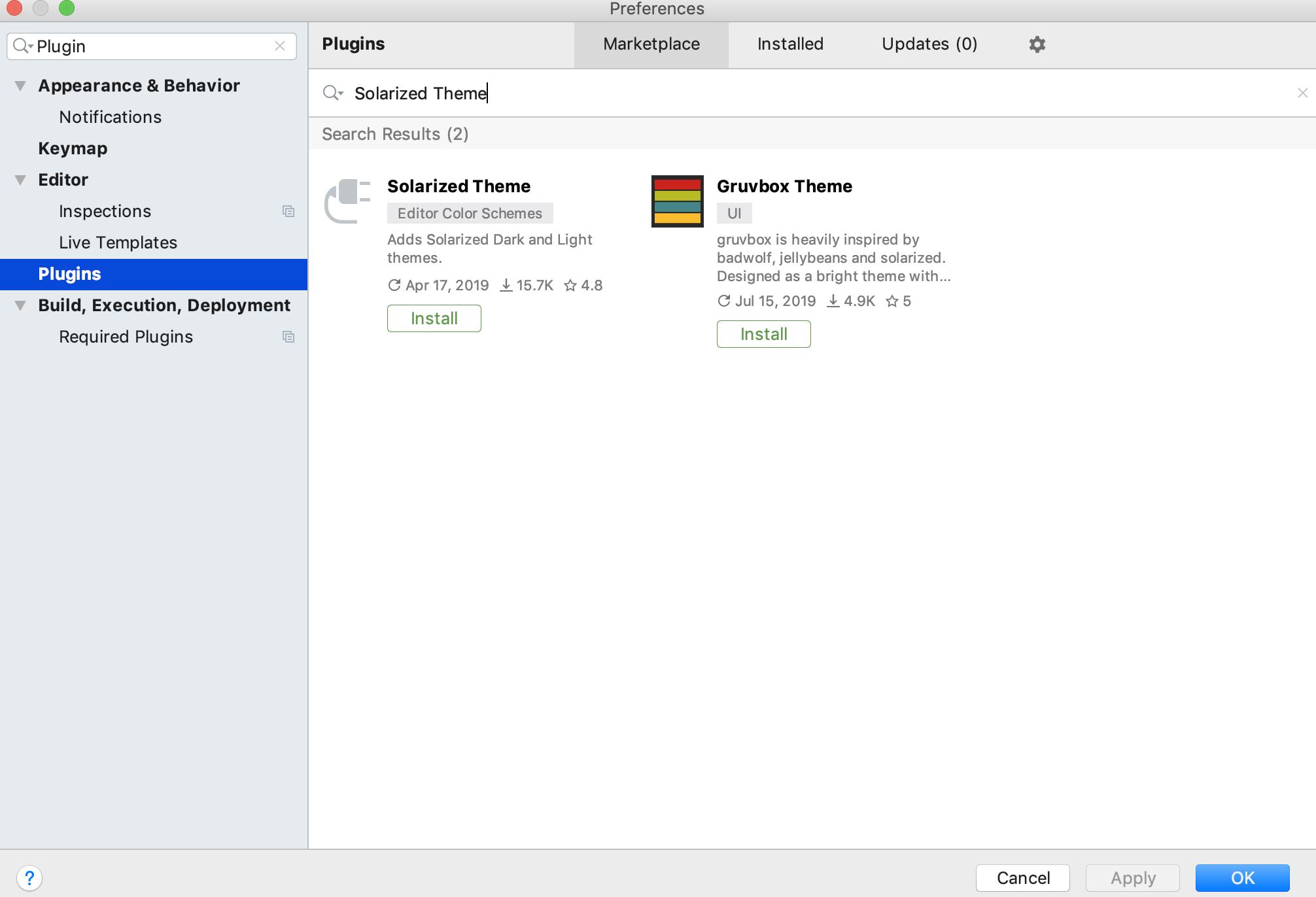 GoLandのインストールと基本設定(MacOS) - Qiita