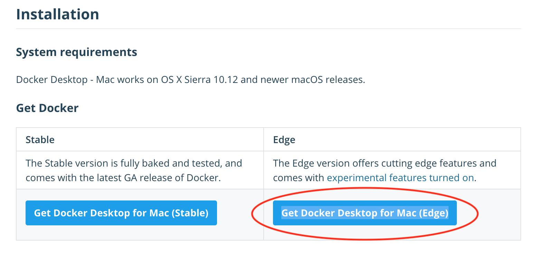 Docker For Mac V1 Registry Api
