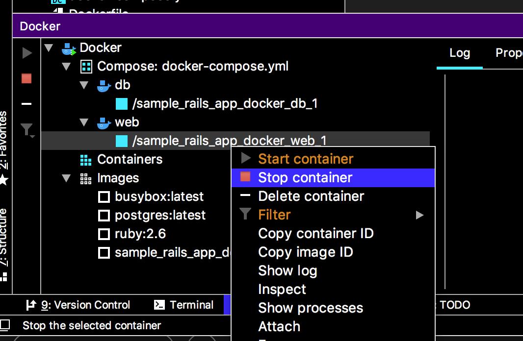 RubyMine 2019 1 2でdocker compose環境でのRailsアプリの