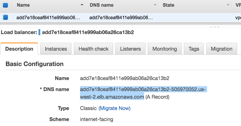 AWS Kubernetes(EKS)の環境を作成し、マイクロサービスの