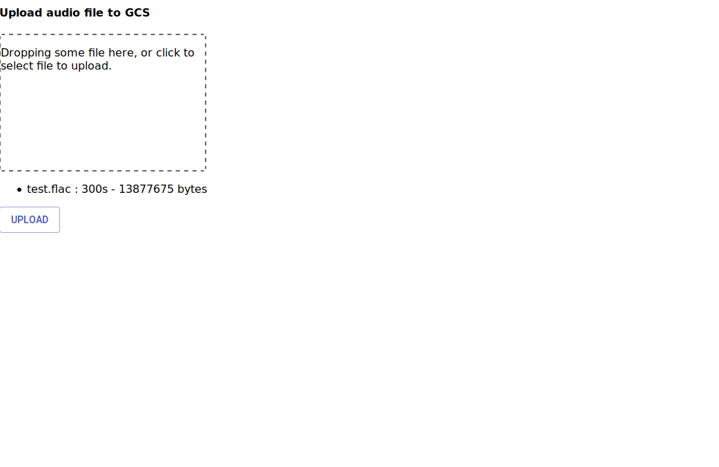 react、firebaseでブラウザからcloud storageに音声ファイル