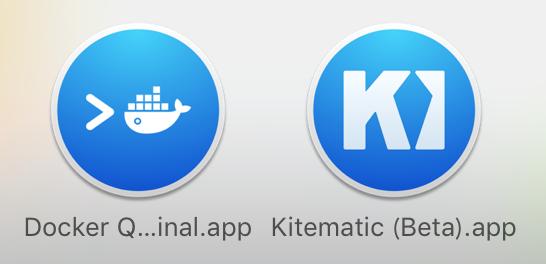Docker app