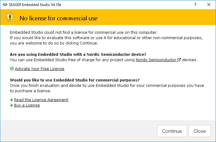 nRF52840 を Segger Embedded Studio 開発環境で First Try - Qiita