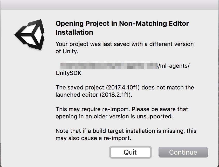 MacでUnity ML-Agentsの環境を構築する(v0 5 0対応) - Qiita