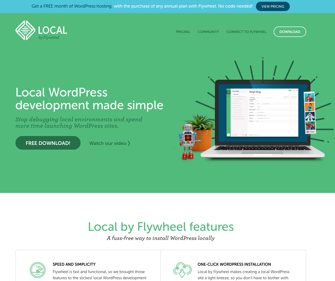 Local by Flywheel website img