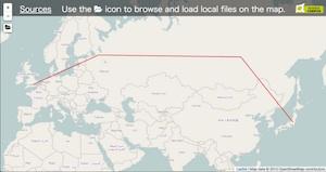 GeoJSONファイルを可視化(地図上表示) - Qiita