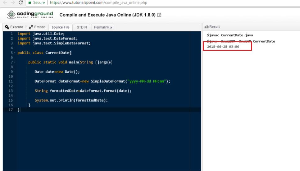 Javaで現在の日付を表示する - Qiita
