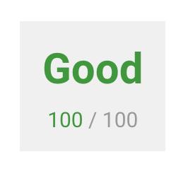 Good 100/100