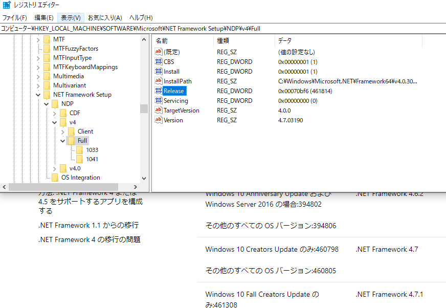 「.NET Framework 4」をダウンロードする