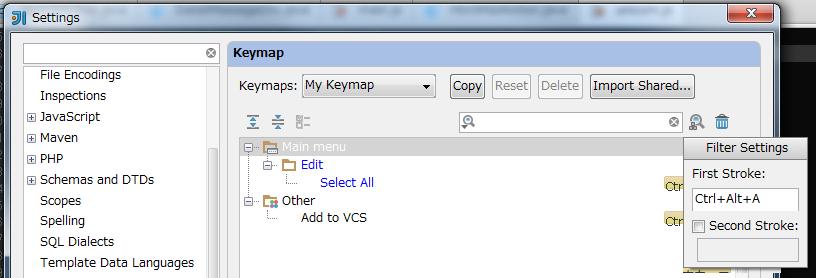 Emacsが大好きな僕がIntelliJ IDEA導入時に行ったkeymap設定の