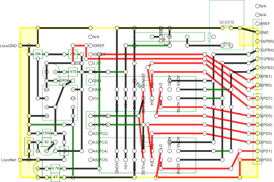 Model train detector/speedometer with Arduino and photo