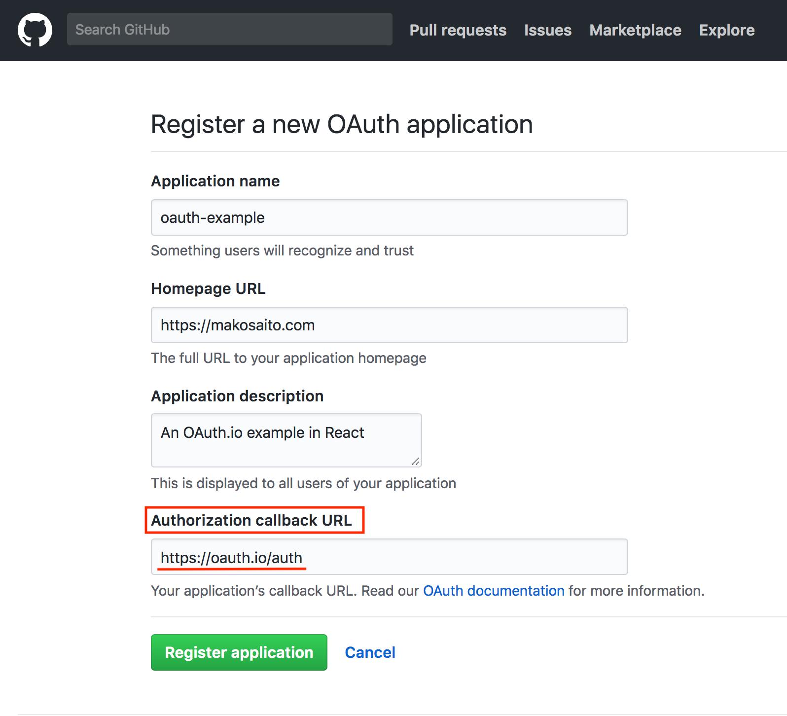 OAuth認証 + React jsを使ってソーシャルログインボタンを導入