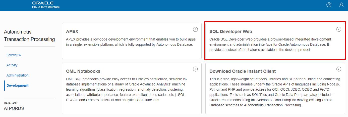 Create a REST API for Blog App with Oracle Autonomous