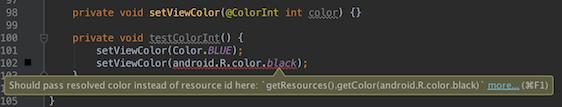 ColorInt