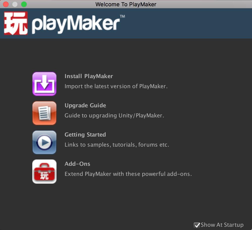 Install PlayMaker
