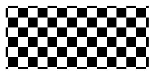 市松模様の図