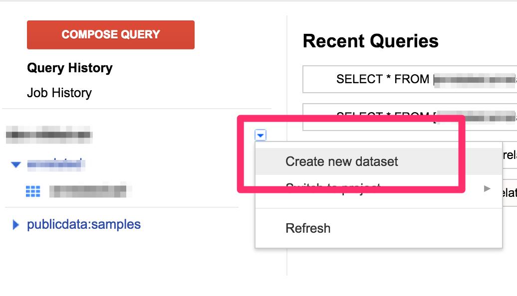 GAE/Python→BigQueryへのデータ投入、Spreadsheetからのクエリ