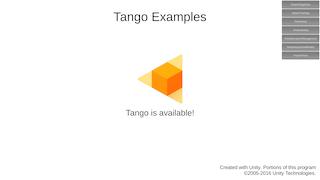unity tango sdkのexamplesを全種類ビルドしてみた qiita