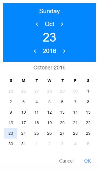 ionic】カレンダーの実装 - Qiita