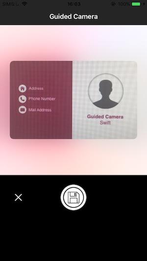iOS Guided Camera (Swift) - Qiita