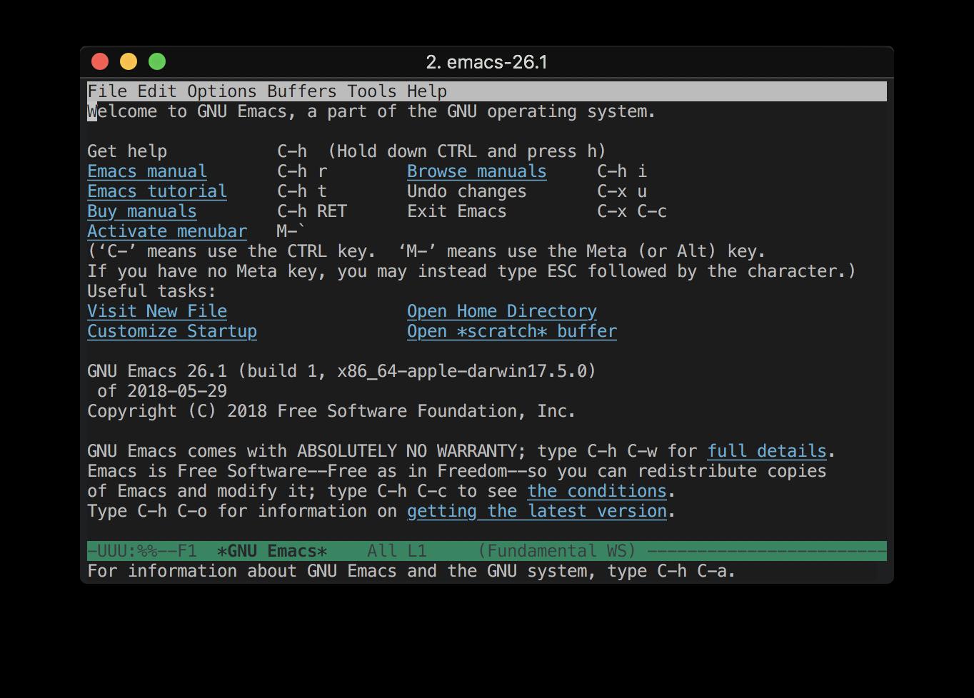 Emacsを使えるようにするための...