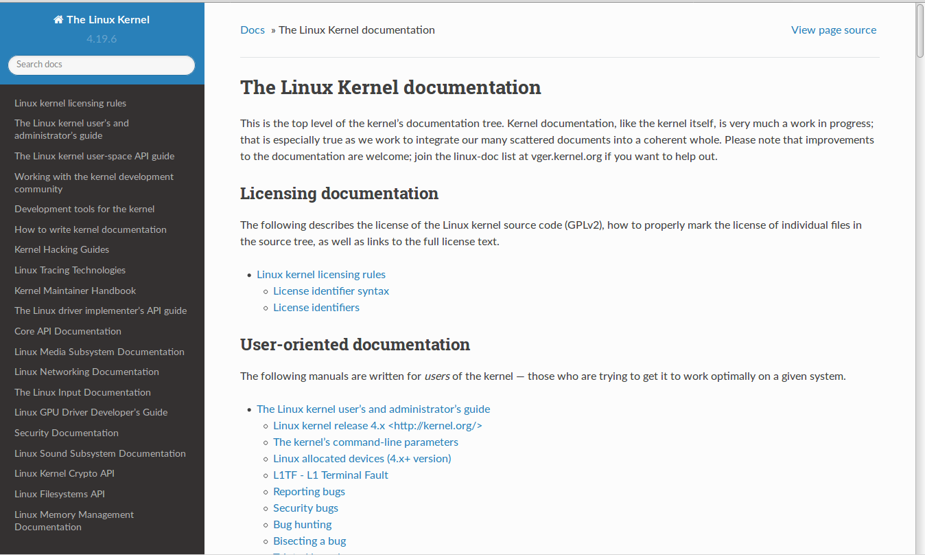 linux_v4.19.6_Documentaion.png