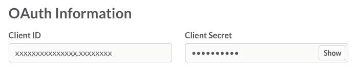 Client ID