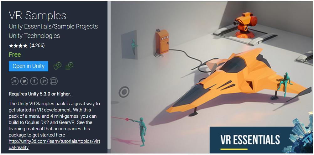 UnityのVR SamplesをモバイルVRで活用する - Qiita