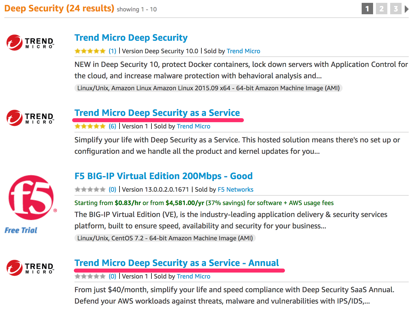 deep security as a serviceをaws marketplaceで買ってみる qiita