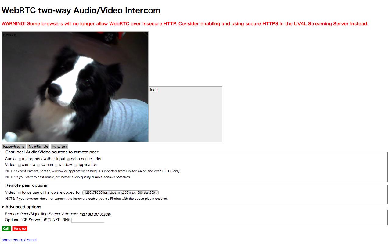 Raspberry Pi3とUSB WEBカメラでストリーミング - Qiita