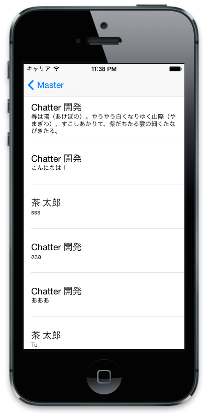 Chatter Feed