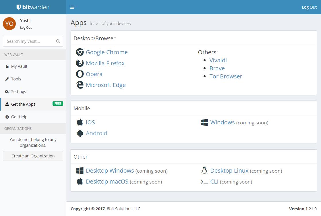 Get the Apps bitwarden Web Vault.png