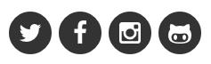 SNSのアイコンボタン