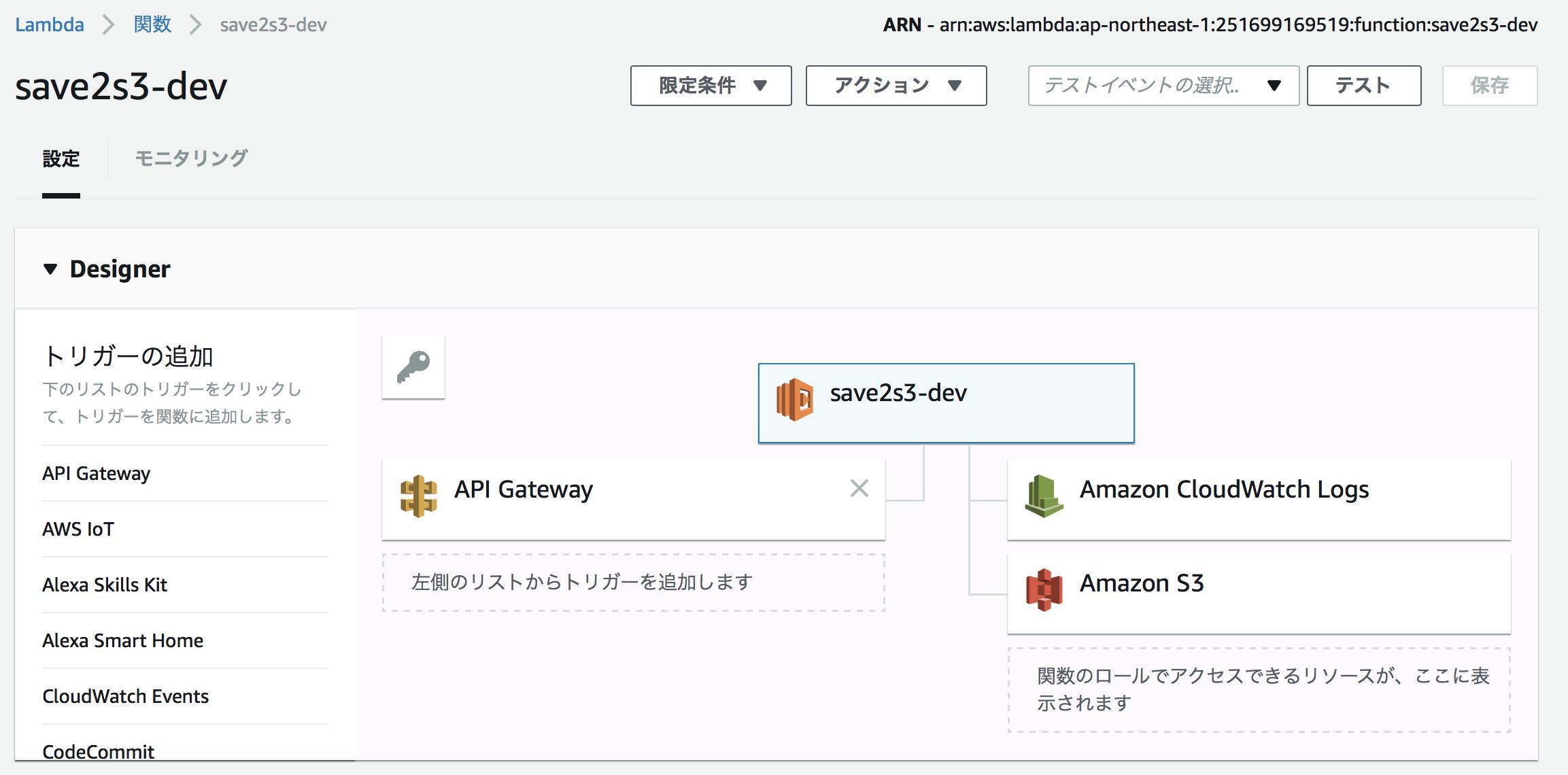 ChaliceとBoto3を使って、AWS LambdaからS3にアクセスする - Qiita