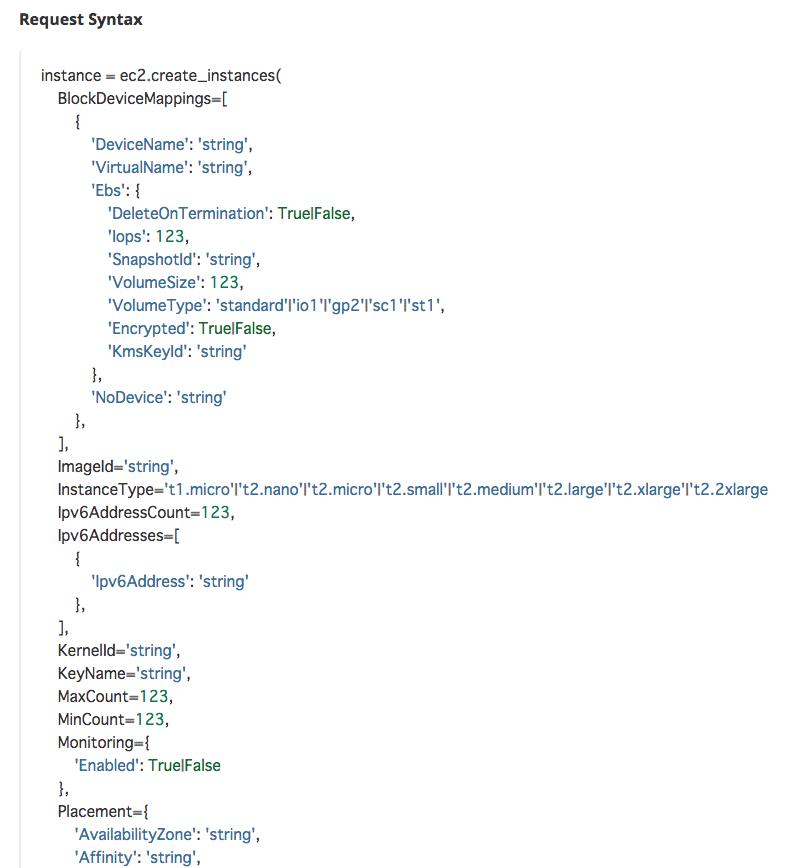Python boto3 でAWSを自在に操ろう ~入門編~ - Qiita