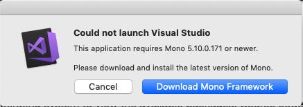 HomebrewでMonoをインストールしたのにVisualStudioを使うときに