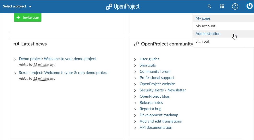OpenProjectで始めるプロジェクト管理 - Qiita