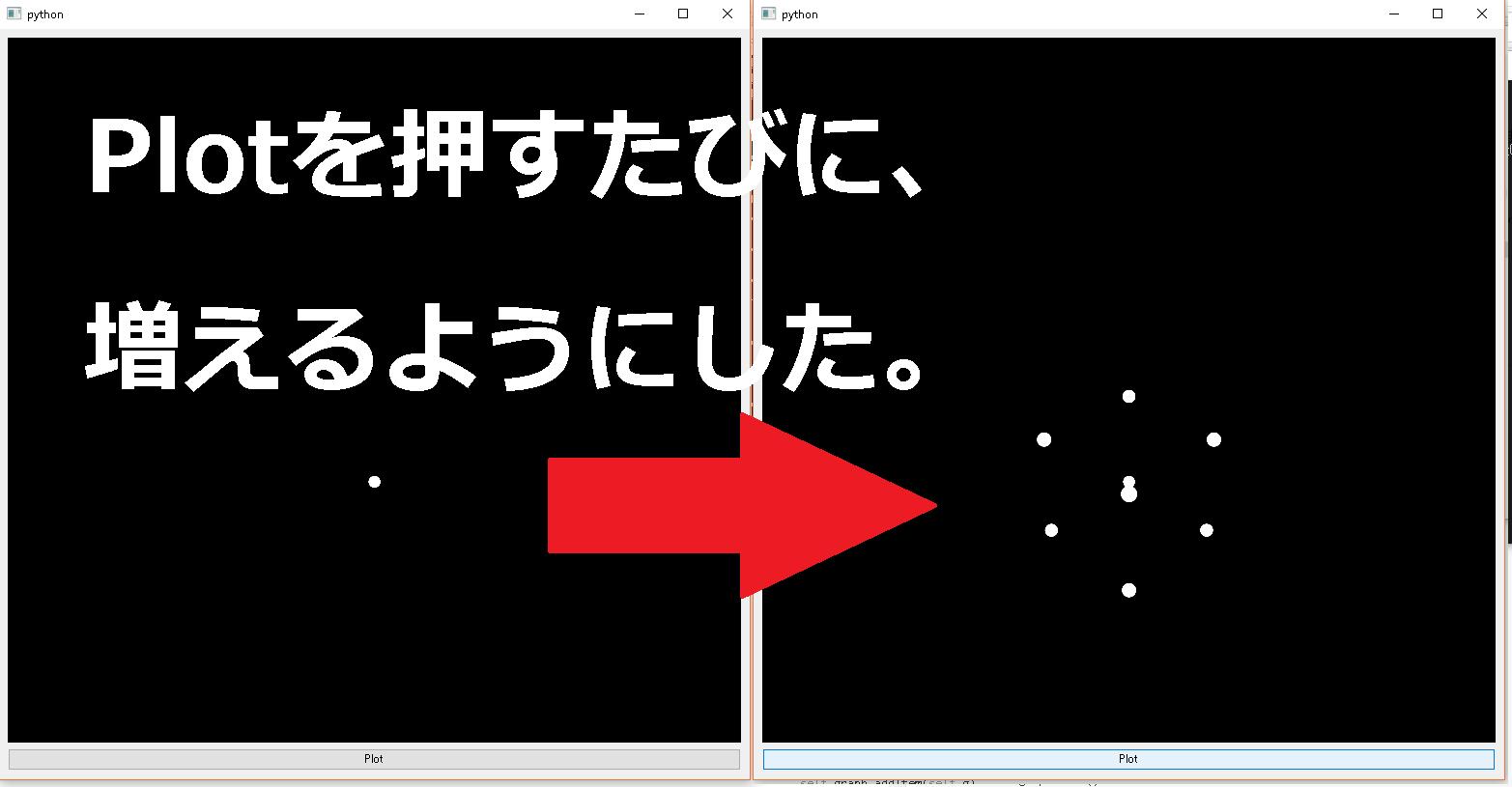 PyQtGraphで3D散布図(scatter plot) - Qiita