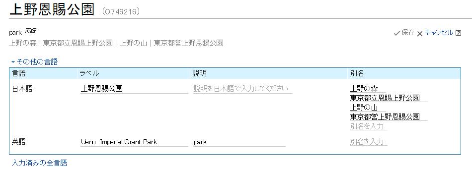 上野恩賜公園   Wikidata_edit.png