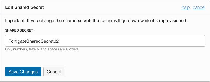 Oracle Cloud:FortiGateでOCIへIPsec VPN接続してみてみた - Qiita