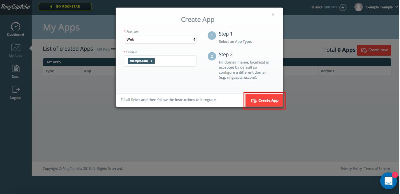 RingCaptcha_create_app.png