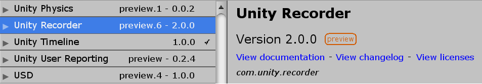 Unity Recorder の使い方 - Qiita