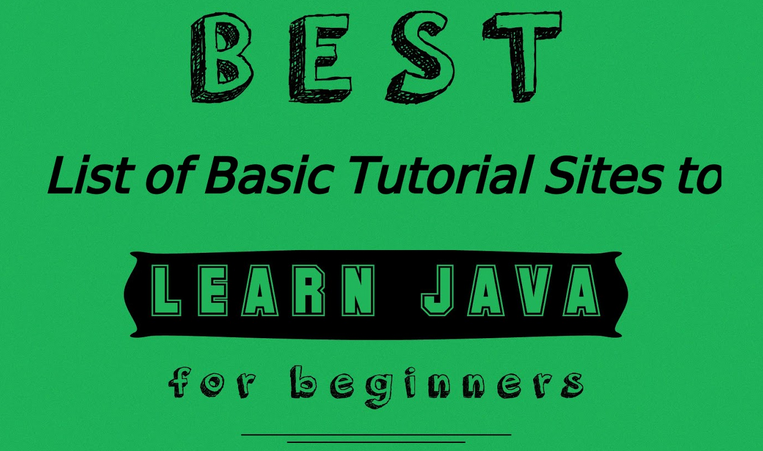 9 strongest sites for learning Java by self study - Qiita