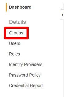 左メニュー-Groups
