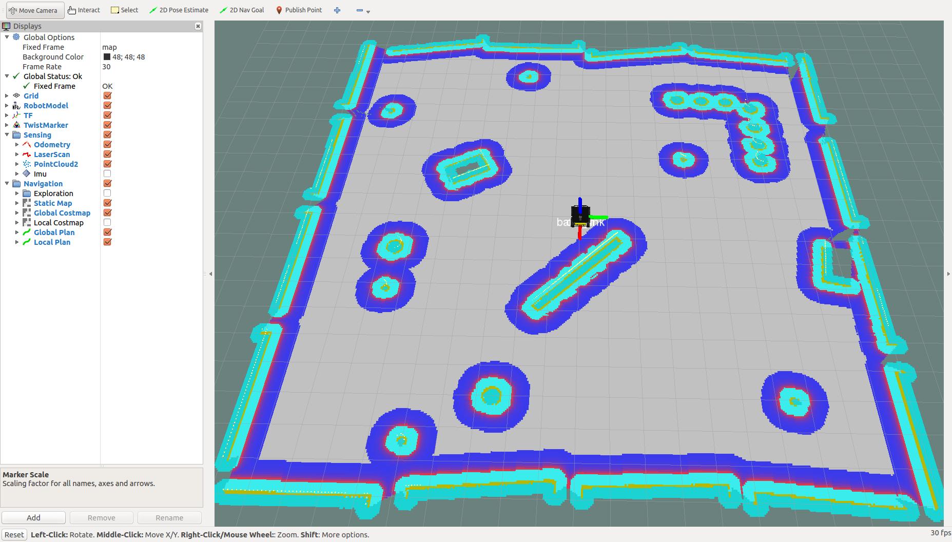 Navigation Stack を理解する - 3 1 amcl: ROSで遊んでみる - Qiita