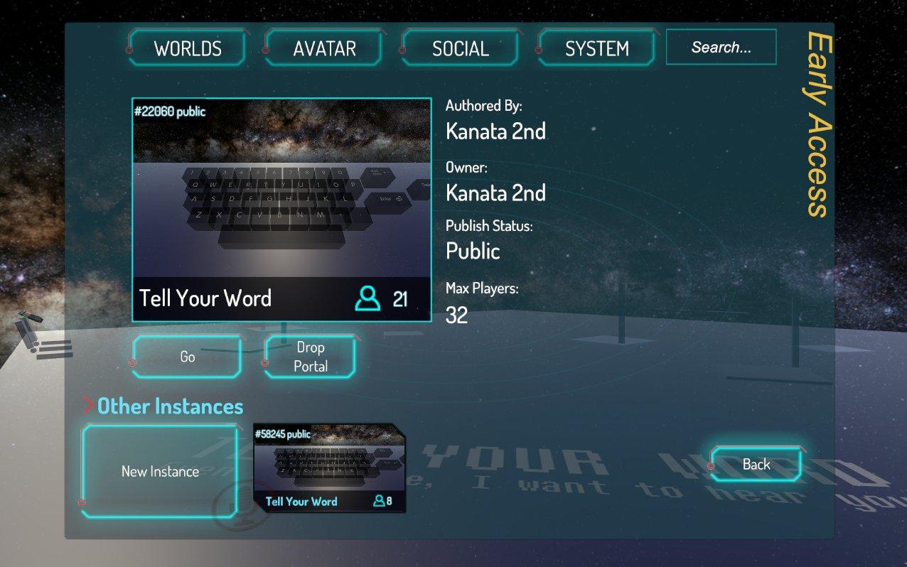 VRChat画面