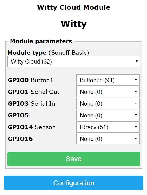 Witty ESP8266 赤外線受光モジュール Tasmota化 - Qiita